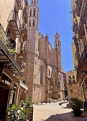 Church Santa Maria del Mar - Barcelona